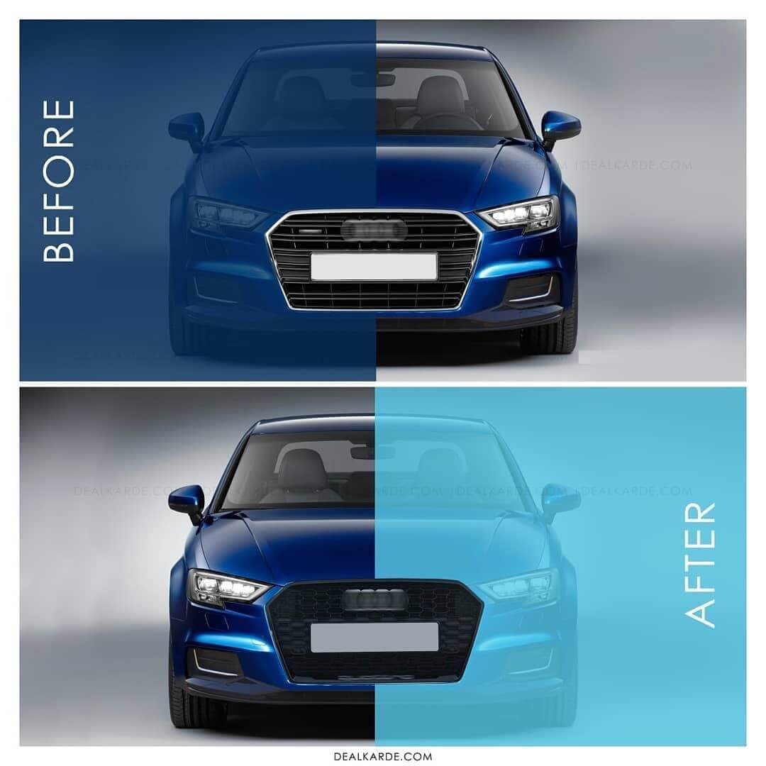 AUDI A3 8V (2013-2019) RS3 STYLE FRONT GRILL